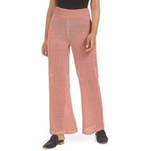 NWT Free People Summer Nights Wide-Leg Pants
